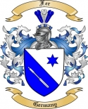 Fer Family Crest from Germany