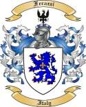Ferazzi Family Crest from Italy