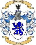 Ferazzoli Family Crest from Italy