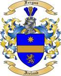Fergus Family Crest from Ireland
