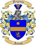 Ferguson Family Coat of Arms from Ireland