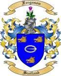 Ferguson Family Crest from Scotland