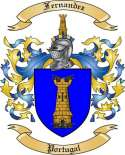 Fernandez Family Crest from Portugal