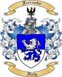 Ferrando Family Crest from Italy