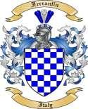 Ferrantin Family Coat of Arms from Italy2