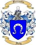 Ferrantin Family Coat of Arms from Italy