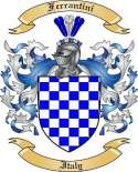 Ferrantini Family Crest from Italy2