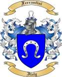 Ferrantini Family Crest from Italy