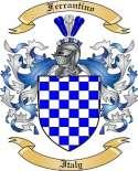 Ferrantino Family Crest from Italy2