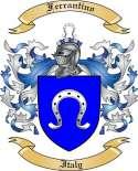 Ferrantino Family Crest from Italy