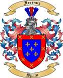 Ferranz Family Crest from Spain
