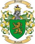 Ferrell Family Coat of Arms from Ireland2