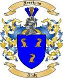 Ferrigno Family Coat of Arms from Italy2