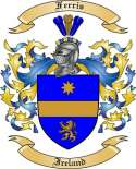 Ferris Family Coat of Arms from Ireland