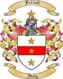 Ferroli Family Coat of Arms from Italy