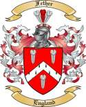 Fether Family Coat of Arms from England