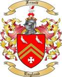 Feuett Family Coat of Arms from England