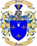 Fevret Family Coat of Arms from France
