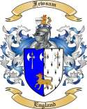 Fewsam Family Crest from England