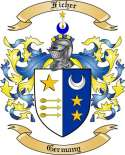 Ficher Family Crest from Germany