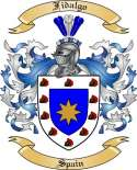 Fidalgo Family Crest from Spain