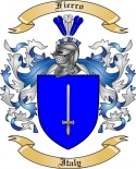 Fierro Family Coat of Arms from Italy2