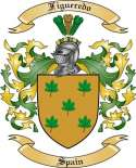 Figueredo Family Coat of Arms from Spain