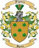 Figuero Family Coat of Arms from Spain