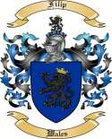 Filip Family Crest from Wales