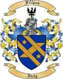 Filipaz Family Coat of Arms from Italy2