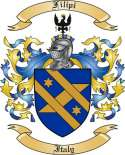 Filipi Family Coat of Arms from Italy2