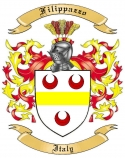 Filippazzo Family Crest from Italy