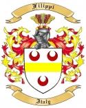 Filippi Family Crest from Italy