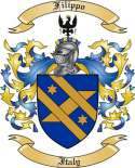 Filippo Family Coat of Arms from Italy2