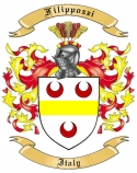 Filippozzi Family Coat of Arms from Italy
