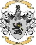 Filips Family Crest from Wales2