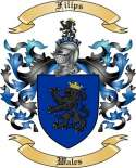 Filips Family Crest from Wales