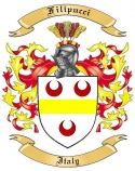 Filipucci Family Coat of Arms from Italy