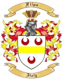 Filpo Family Crest from Italy