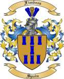 Fimbres Family Crest from Spain