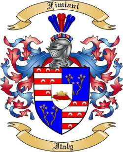 Fimiani Family Coat of Arms from Italy