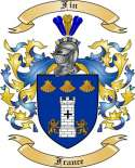 Fin Family Coat of Arms from France