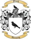 Finch Family Coat of Arms from Germany