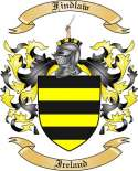 Findlaw Family Crest from Ireland