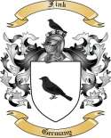 Fink Family Coat of Arms from Germany