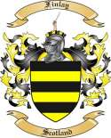 Finlay Family Coat of Arms from Scotland