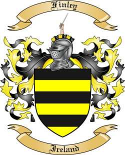 Finley Family Coat of Arms from Ireland