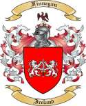 Finnegan Family Coat of Arms from Ireland