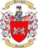 Finnegan Family Crest from Ireland