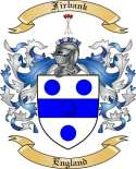 Firbank Family Crest from England
